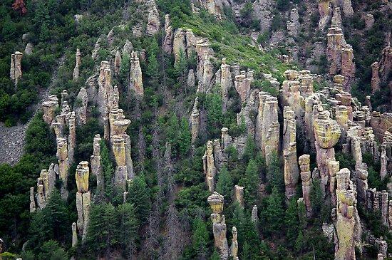Land of Standing up Rock ~ Chiricahua National Monument, Arizona USA by Vicki Pelham