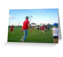 Sport Carnival Greeting Card