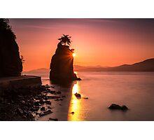 Siwash Rosk Sunset Photographic Print