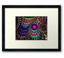 Jungle Rainbow Framed Print