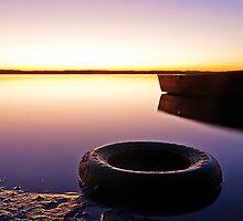 Redland Bay Sunrise -Qld Australia by Beth  Wode