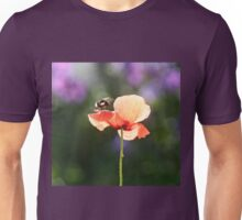 Bumble bee and poppy Unisex T-Shirt