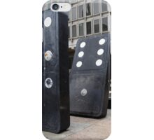 the domino effect iPhone Case/Skin