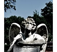 Angel Statue - Graceland Cemetery Photographic Print