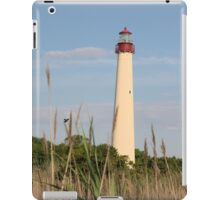Cape May Lighthouse through the Reeds iPad Case/Skin