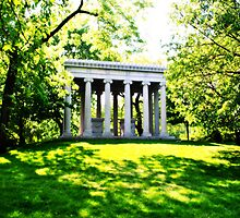 Palmer Burial Ground - Graceland Cemetery by Don Giammarrusco