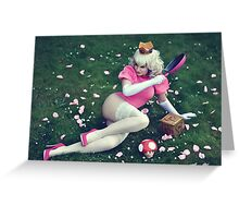 Princess Peach II Greeting Card