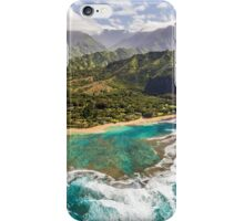 Tunnels Beach Kauai iPhone Case/Skin