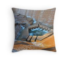 Active Pool, Fort Worth Water Gardens, Fort Worth, Texas, USA Throw Pillow