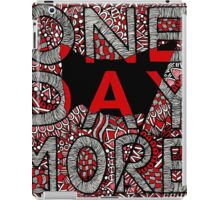 Les Miserables Zentangle iPad Case/Skin