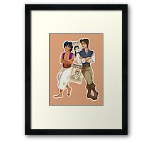 The Wanted Thieves Framed Print