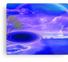 Islands in the stream-  Art + Products Design  Metal Print