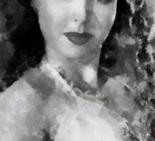 Ann Miller by John Springfield Sticker