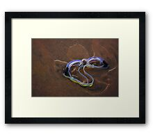 Angel with Goggles  Framed Print