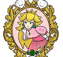 Princess Peach Melee Taunt Design by niymi