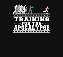 Apocalypse Training (White) Men's Baseball ¾ T-Shirt