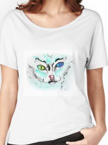 Loki Cat - Animal Art by Valentina Miletic Women's Relaxed Fit T-Shirt