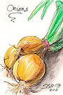 Yellow Onions by Stephanie Smith