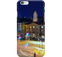 City life at night iPhone Case/Skin
