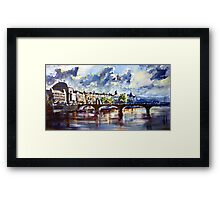 Prague in springtime Framed Print