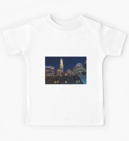 Boston, Old and New Kids Tee