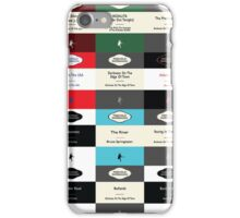 BOSS TOP 12 SONGS RETRO PAPERBACK COVERS iPhone Case/Skin