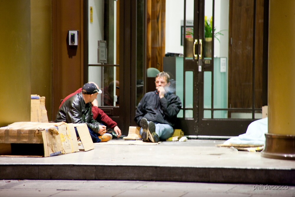 Homeless by phil decocco