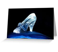 Cinderella's Glass Slipper Greeting Card