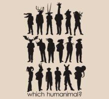 Which humanimal? Black by Brett Perryman