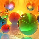 Summer Bubbles by Tanya Newman