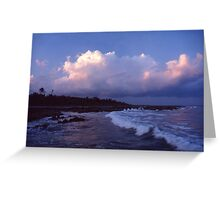 Tropical Surf Greeting Card