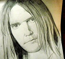 Neil Young by Rachel Black