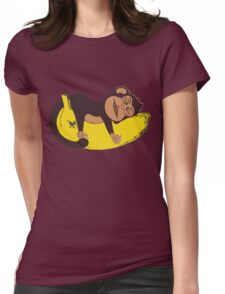 Sleepy Monkey Womens Fitted T-Shirt
