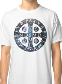 Saint Benedict Medal Classic T-Shirt