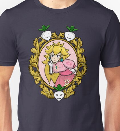 Princess Peach Melee Taunt Design Unisex T-Shirt