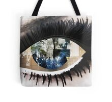 Eye with New York City Reflection Tote Bag