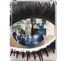 Eye with New York City Reflection iPad Case/Skin