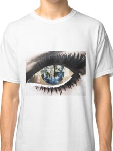 Eye with New York City Reflection Classic T-Shirt