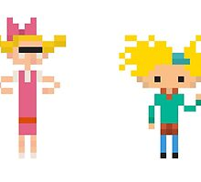 Hey Arnold - Set of 2 by fulifuli