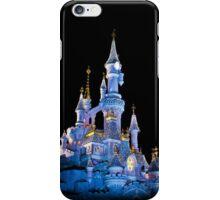 Sleeping Beauty Castle - Christmas Lights (Disneyland Paris) iPhone Case/Skin
