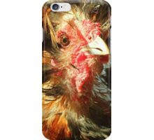 Spike the Firebird - Frizzled Polish Rooster iPhone Case/Skin