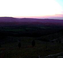 Rural Skyline at Dawn by Don Giammarrusco