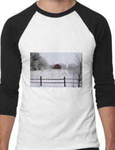 Nature's Brush Men's Baseball ¾ T-Shirt