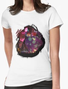 Butch as the Madhatter Womens Fitted T-Shirt