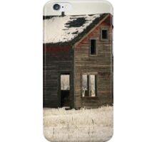 Alone on the Stark Prairie iPhone Case/Skin