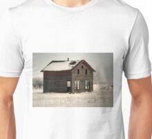 Alone on the Stark Prairie Unisex T-Shirt