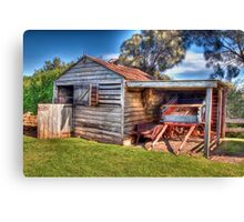 Ye Old Horse Stable Canvas Print