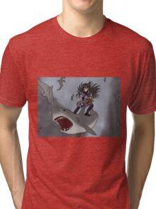 Homura Vs Sharknado Tri-blend T-Shirt