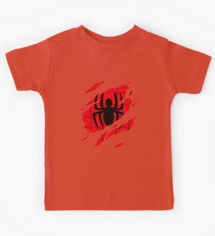 Secret Identity: Spider Man Kids Tee
