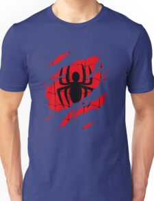 Secret Identity: Spider Man Unisex T-Shirt